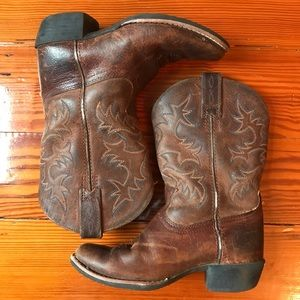 Kids Ariat Leather Boots